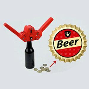 Color rojo Manual taponadora botella de cerveza