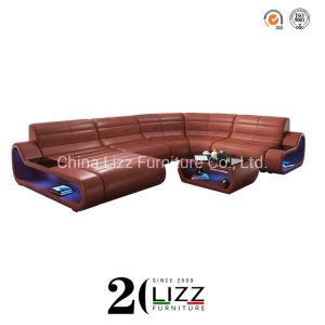Dream Design House salle de séjour un canapé-lit en cuir de coupe moderne /confortable Coin Loisirs Meubles lit ensemble de la table avec table à café