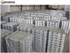 99% a 99,9% de High-Purity Customized lingotes de alumínio vendido a preço de fábrica