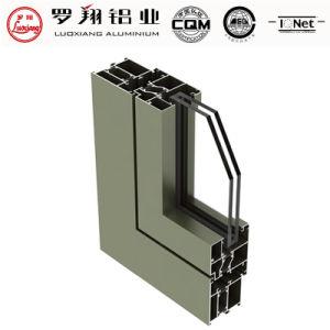 Isolation thermique 6063 de haute qualité profil en aluminium pour portes et Fenêtre