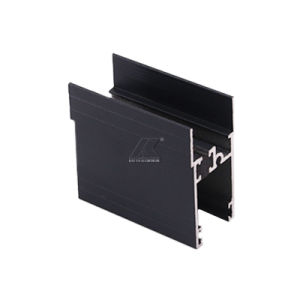 Perfil de la ventana de aluminio negro anodizado para decoración - Comprar ventana Perfil de aluminio