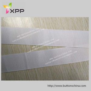 De Band van de Polyester van 100% van Witte Band Dyeable