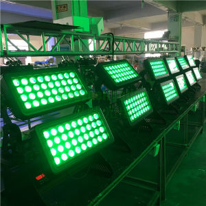 72X12W RGBW屋外DJ都市Clor LEDカラー変更ライト