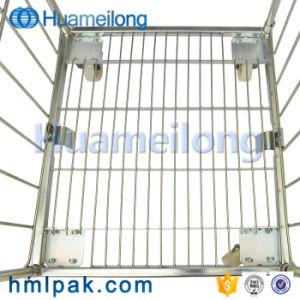 Karretje van de Kooi van het Broodje van de Verkoop van de Opslag van China het Industriële Hete Opvouwbare Draagbare