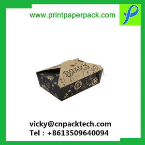 Mode de luxe pliable Personnalisé Papier de grand gâteau carré boîte