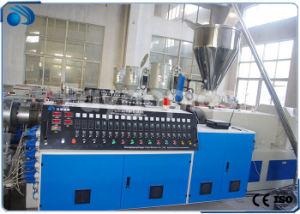 Parada de agua de PVC de la línea de producción de extrusión