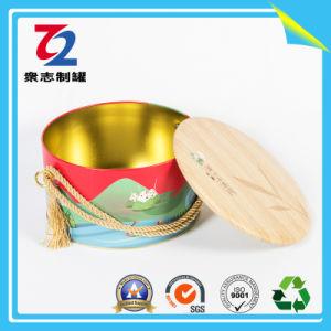 2018의 도매 금속 둥근 사탕 주석 선물 주석 제동자 수다 주석 상자