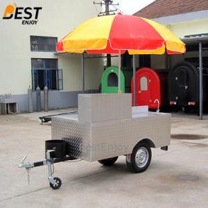 200cm de long en acier inoxydable plaque chaude Griddle Fryer poêle fast-food Mobile Panier Hotdog Hot Dog Panier