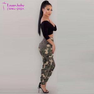 Le Camouflage Multi-Pocket pantalon slim