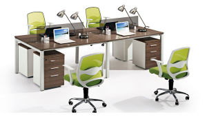 Hotsale Estación de trabajo lineal de doble cara de la Oficina de Personal de la Oficina de Recepción (SZ-WS471)
