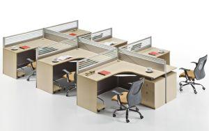 Tabique moderna barata 6 plazas La estación de trabajo del armario de oficina (SZ-WS329)
