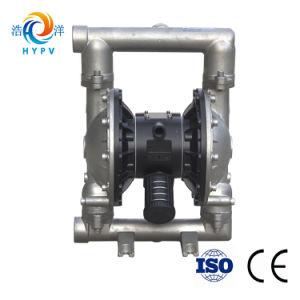 Doble membrana neumáticas de acero inoxidable de aspiración de aceite de la bomba neumática