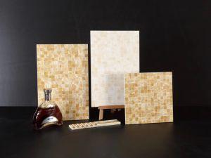대리석 세라믹 디자인에 의하여 윤이 나는 도기 타일 목욕탕 벽 & 지면 도와