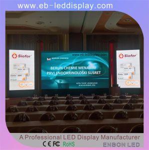 Le SMD2121 avec taux de contraste élevé, P3 Étape mur vidéo LED