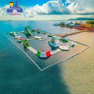 Commerical販売のための大人の膨脹可能な浮遊水公園