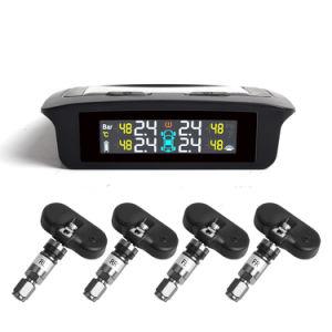 車のアクセサリの多彩なスクリーンを監察する太陽エネルギーTPMSの太陽タイヤ空気圧