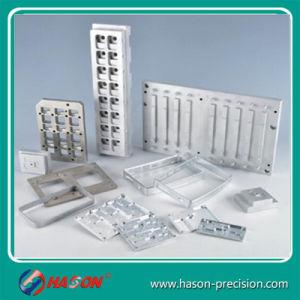 Precisie die CNC het Deel machinaal bewerken die van het Aluminium CNC van het Aluminium Deel machinaal bewerken