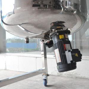 ステンレス鋼の産業二重ジャケットの医学の解決の混合機械
