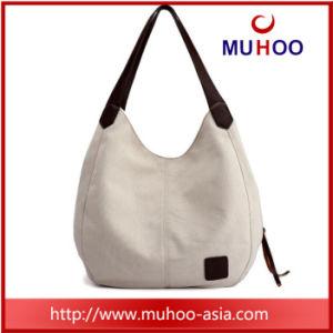 Form-Freizeit-Segeltuch-Schulter-Handtaschetote-Beutel für Mädchen