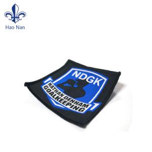 Camiseta personalizada mejor venta de la impresión de etiquetas tejidas