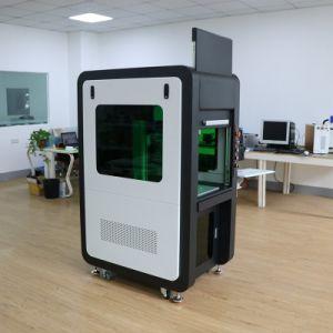 금속과 보석을%s 안전한 보호 방패 30W 50W 섬유 Laser 조각 표하기 기계