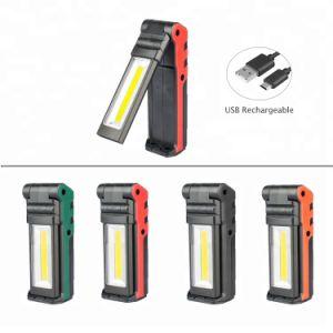 手持ち型作業ライト18650電池式のポータブルLED働くライト