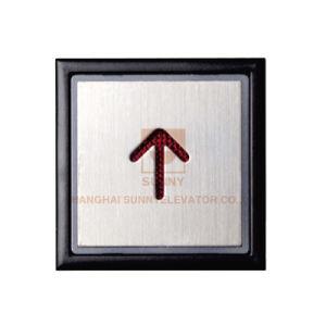 Höhenruder-Blindenschrift-Taste mit transparenten Plastikzeichen (SN-PB310)