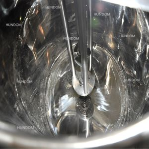 衛生真空の装飾的な薬剤のクリームを混合するための乳状になるミキサー機械