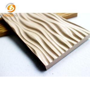 MDF de baja emisión de formaldehído en los paneles de pared 3D