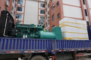 330kw Volvo 승인되는 디젤 엔진 발전기 세트 Tad1344ge 세륨 ISO