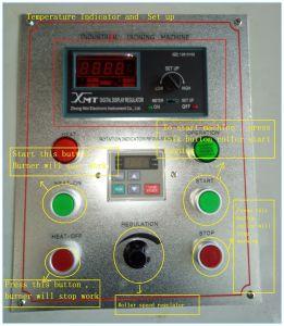 Linha de cama tipo GPL cilindro Máquina Ironer plana