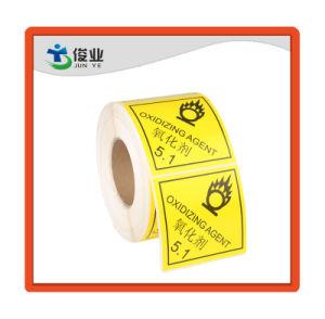 Aviso de Segurança Alerta Well-Marked clara na etiqueta/autocolante do Rolo