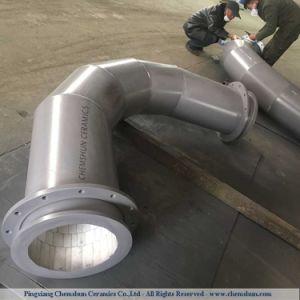 酸化アルミニウムの化学抵抗の陶磁器の並べられた管付属品