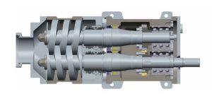 Bomba de doble husillo de FDS.