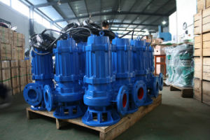 Qw sumergible bomba sumergible de aguas residuales de la bomba sumergible de aguas residuales de acero inoxidable Bomba de aguas residuales
