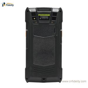 De Handbediende Mobiele EindCollector van Gegevens PDA met de Scanner van de Streepjescode RFID tweede van WiFi Bluetooth NFC