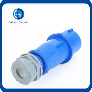 Imperméable industriel électrique connecteur mâle et femelle 16A 32A 63A 2p 3P+N IP67