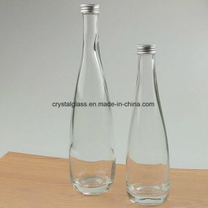 330ml 500ml Evian Form-Mineralwasser-Glasflasche
