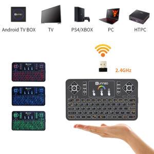 De androïde Doos van TV Sunnzo G9 PRO met Draadloos Toetsenbord Amlogic S905X Kodi 17.3 Vastgestelde Hoogste Doos