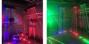 3W het bewegen van de HoofdStaaf van de Serie van de Laser