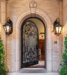 Высокое качество безопасности у входа одной железной двери для дома/внутренние железные двери
