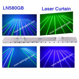 Жир лазерного луча шторки / ГБ DJ оборудование LN580GB