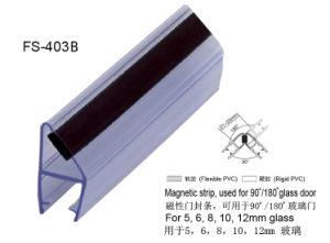Les joints en PVC magnétique pour porte de douche 90/180 degré (FS-403)