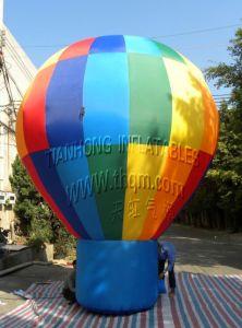 2015 de Hete Ballon van de Lucht van de Hemel van het Helium van pvc van de Reclame van de Verkoop Openlucht Reuze Opblaasbare
