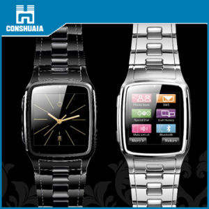 Edelstahl-intelligentes Uhr-Telefon (CH1106)