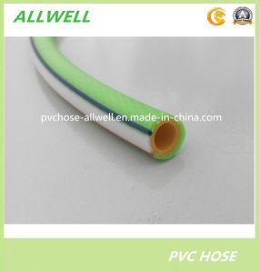 Plastique PVC renforcé de fibre hydraulique haute pression tressée flexible du tuyau de pulvérisation d'air