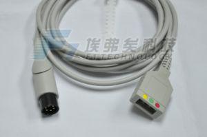 Mindray 6Контакт 3магистральный кабель отведений ЭКГ кабель ЭКГ
