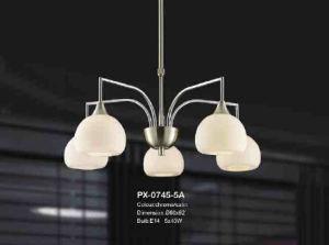 Alta Qualidade decorativa Modern interior Glass Chandelier ( PX- 0745-5A )