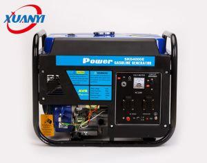 piccolo generatore elettrico silenzioso portatile della benzina 3.5kw/3.5kVA