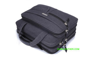 Mallette pour ordinateur portable en toile de haute qualité pour les entreprises et les voyages